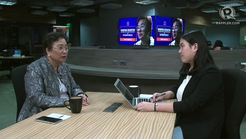 Poll commissioner Rowena Guanzon on women's empowerment in Comelec
