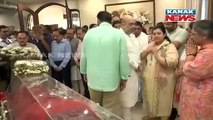 Amit Shah Pays Last Respect To Former FM Arun Jaitley