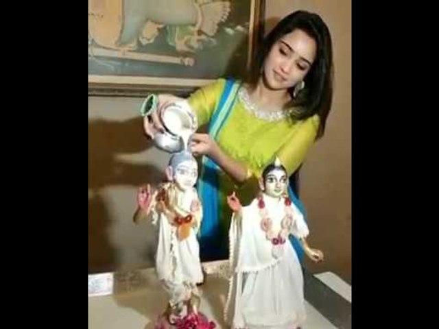 AshiSingh celebrates Krishna Janmashtami