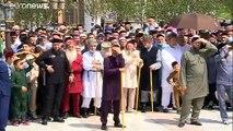 """شاهد: """"فخر المسلمين"""".. الشيشان تفتتح """"أكبر مسجد"""" في أوروبا"""
