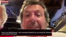 Jean-Luc Reichmann : son amusant sketch sur sa coupe de cheveux avec Franck Provost (vidéo)