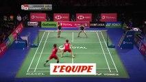 Le résumé des premières demi-finales - Badminton - ChM