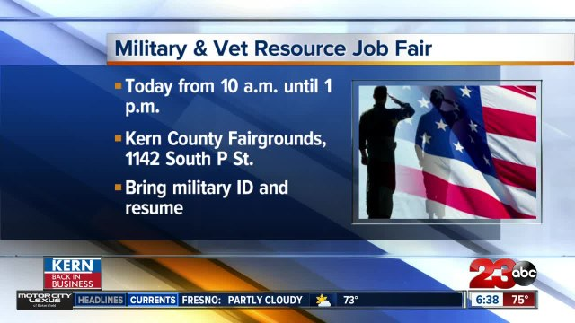 Army and National Guard hosting job and resource fair for veterans and active military today