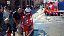 Portes ouvertes chez les pompiers de Saint Ghislain.Video Eric GHISLAIN