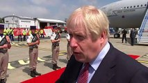 Boris doesn't want to see free trade with Brazil frustrated