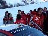 Loeb crash wrc rallye