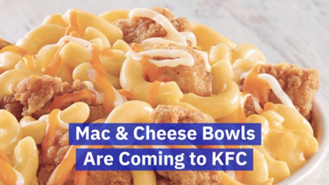 KFC Knows We Like Mac And Cheese