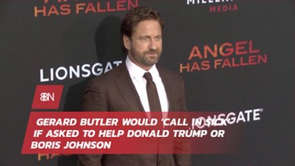 Gerard Butler's Thoughts On Donald Trump