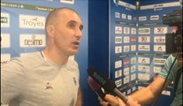 Réaction de l'entraîneur Troyen après la victoire de l'Estac face à Lens