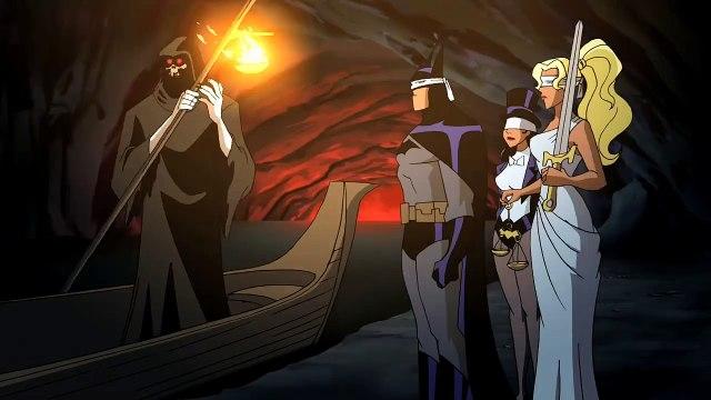 Batman! No! Zatanna! No