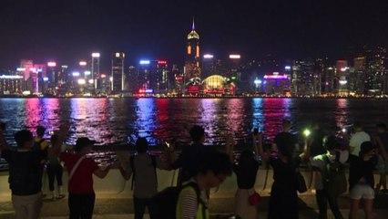 Hong Kong, catena umana pro-democrazia 30 anni dopo la Baltic way