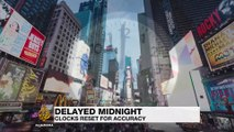 Delayed midnight clocks reset for accuracy