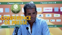 Conférence de presse Rodez Aveyron Football - US Orléans (3-3) : Laurent PEYRELADE (RAF) - Didier OLLE-NICOLLE (USO) - 2019/2020