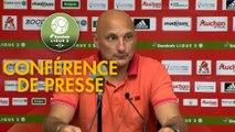 Conférence de presse AC Ajaccio - Paris FC (1-0) : Olivier PANTALONI (ACA) - Mecha BAZDAREVIC (PFC) - 2019/2020