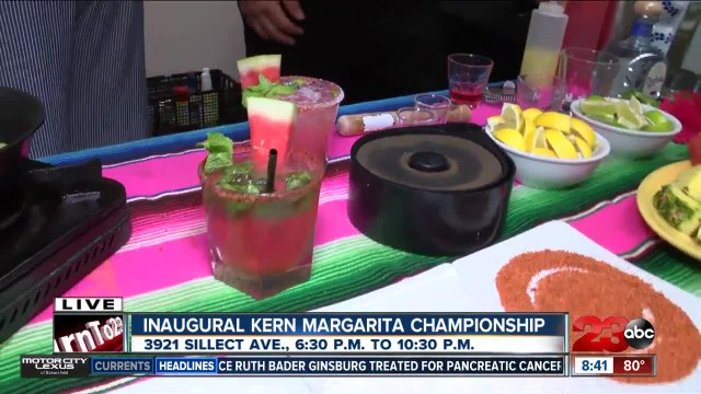 Taste more than 10 margaritas at the inaugural Kern Margarita Championship