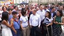 A szélsőjobb ellen tüntettek Drezdában