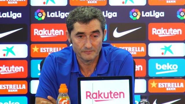 """2ème j. - Valverde : """"Griezmann doit être plus présent dans le jeu"""""""