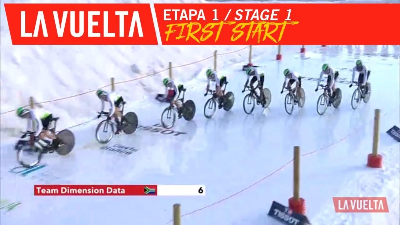 Premier départ / First Start - Étape 1 / Stage 1 | La Vuelta 19