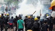 Hong Kong registra novos distúrbios em protestos