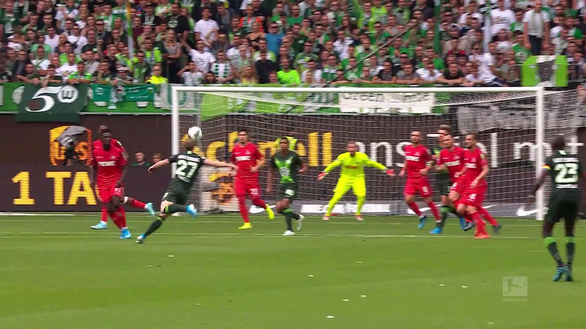 1. Hafta / Wolfsburg - Köln: 2-1 (Özet)