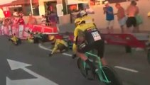 Ciclismo - La Vuelta 2019 - Jumbo-Visma Crash on TTT
