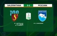 #SalernitanaPescara 3-1 #SerieBKT