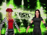 WWF  Invasion Mod Matches Trish Stratus vs Stephanie Mcmahon