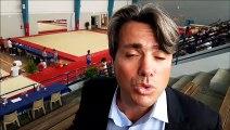Kévinn Rabaud, DTN de la fédération française de gymnastique, parle de l'équipe de France