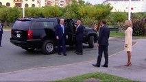 G7 : un déjeuner improvisé entre Emmanuel Macron et Donald Trump