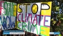 Anti-G7 : les opposants au sommet manifestent à Hendaye