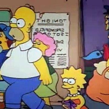 The Simpsons Season 2 Episode 5 - Dancin Homer