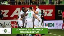 Alanyaspor - Kasımpaşa maçından notlar