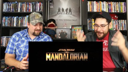 The Mandalorian - Official Trailer Reaction- Review
