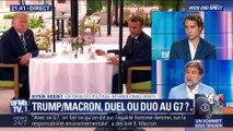 Trump/Macron: duel ou duo au G7 ? (1/2)
