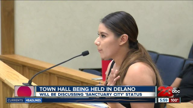 City of Delano holds town hall about new sancuary city status