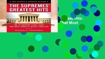Full version  The Supremes Greatest Hits: The 45 Supreme Court Cases That Most Directly Affect
