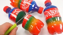 How To Make Colors Mini Cola Jelly Pudding DIY Trick Spilled Coke Jelly Gummy