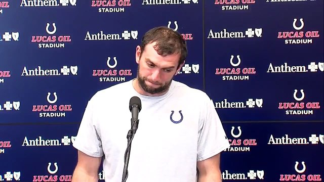 Indianapolis Colts QB Andrew Luck is retiring