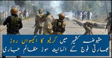 Curfew in Indian Occupied Kashmir enters day 21