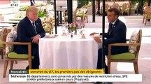 """Spéciale G7 à Biarritz: Le déjeuner d'hier entre Donald Trump et Emmanuel Macron à l'Hôtel du Palais était-il vraiment """"improvisé"""" ?"""