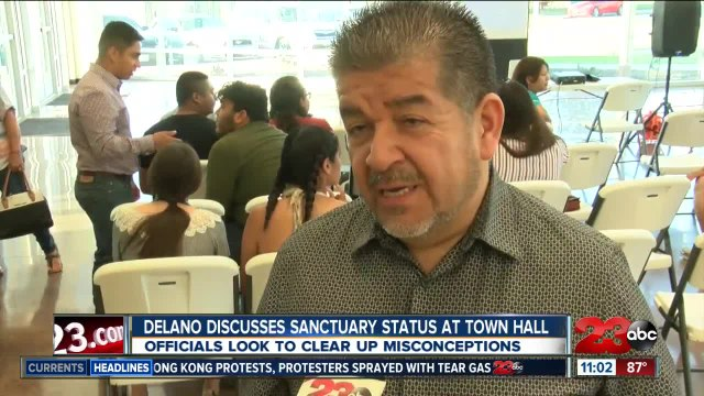 Delano town hall discusses new sanctuary status