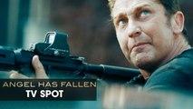 "Angel Has Fallen (2019 Movie) Official TV Spot ""SUMMER"" — Gerard Butler, Morgan Freeman"
