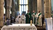 Dernière messe du Père Pierrick Jégonday à la collégiale