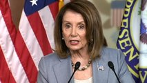 """Nancy Pelosi says House to vote on holding Barr in contempt """"when we're ready"""""""