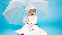 This baby photographer crochets custom costumes for her newborn shoots