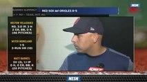 Alex Cora Had Joke For J.D. Martinez After He Hit 200th Home Run