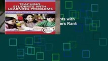 Full E-book  Teaching Students with Learning Problems  Best Sellers Rank : #5