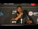 UFC 221 Curtis Blaydes post-win against Mark Hunt
