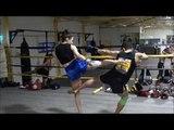 Muay Thai inside kick technique (Round 2 Ep. 7)