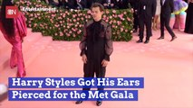 Harry Styles Made A Fashion Sacrifice For The 2019 Met Gala
